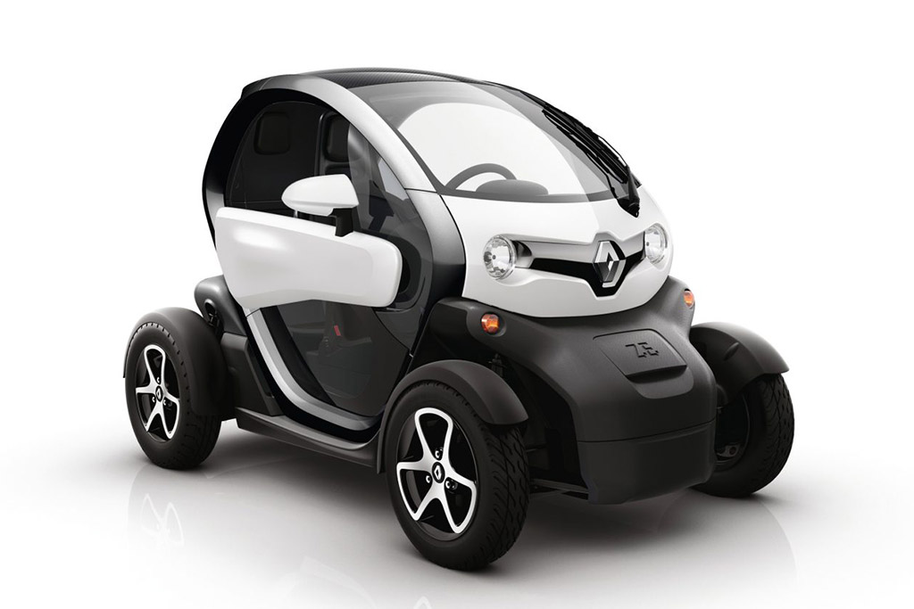 The Renault Twizy Is an Actual (Really Absurd) Car