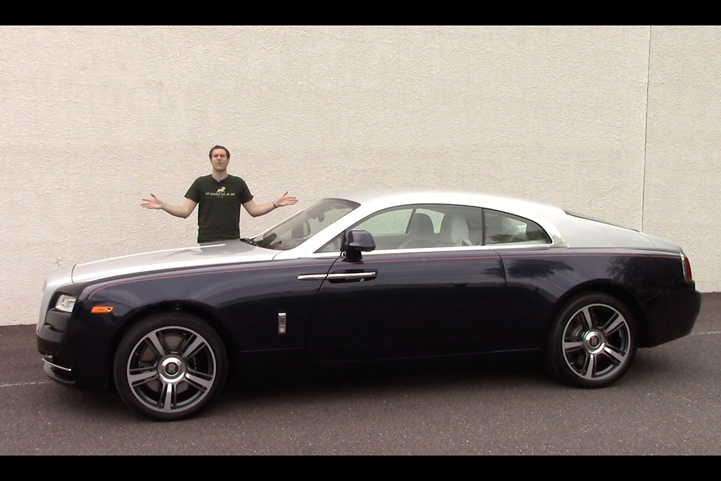 Here's What You Get With a $350,000 Rolls-Royce Wraith