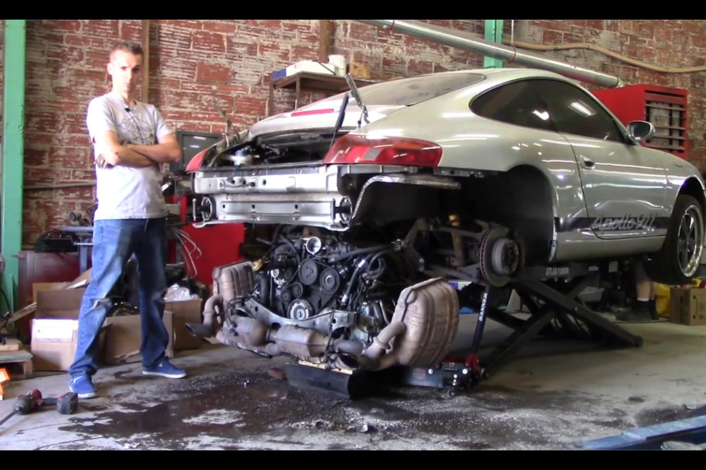 An Idiot's Guide to LS-Swapping a Porsche 911: Part 1