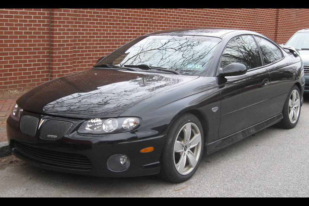 The 2004-2006 Pontiac GTO Is a Real Muscle Car