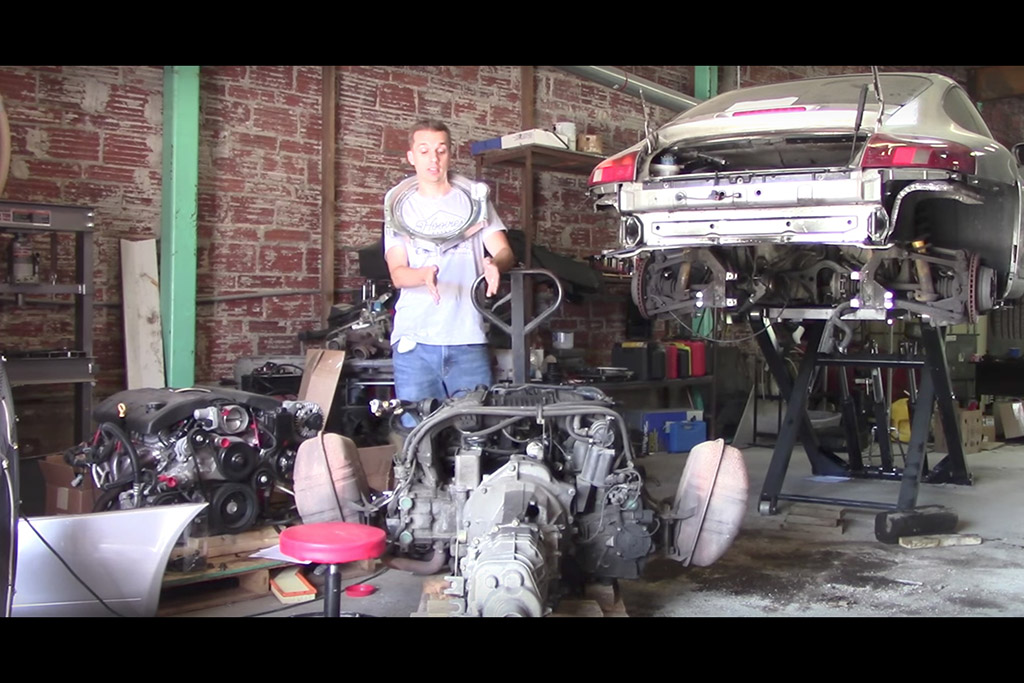 Will It Fit? Swapping a Chevrolet LS V8 Into a Porsche 911: Part 2