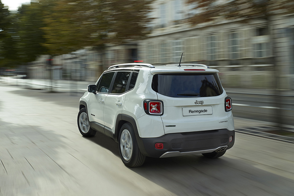 Admit It: You Love the Jeep Renegade's Taillights