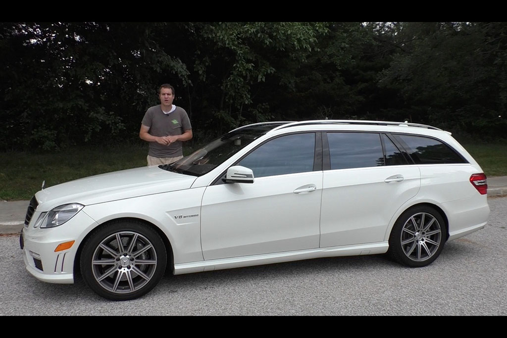 I Bought a Mercedes-Benz E63 AMG Wagon and Drove It 1,200 Miles Home