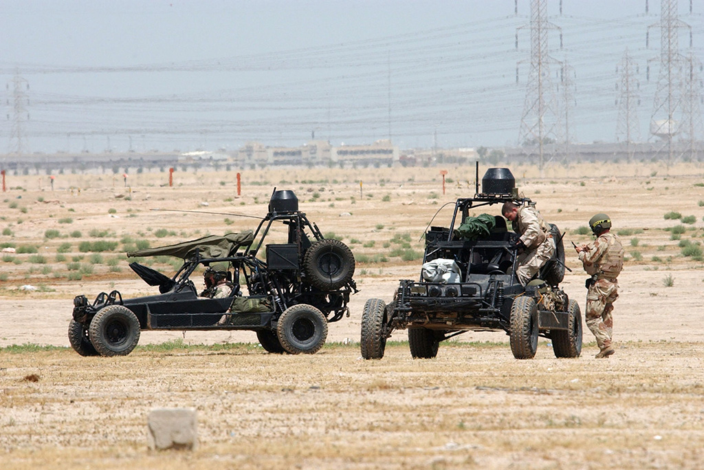 The Navy SEALs' Desert Patrol Vehicle was the Coolest Military Vehicle of All Time