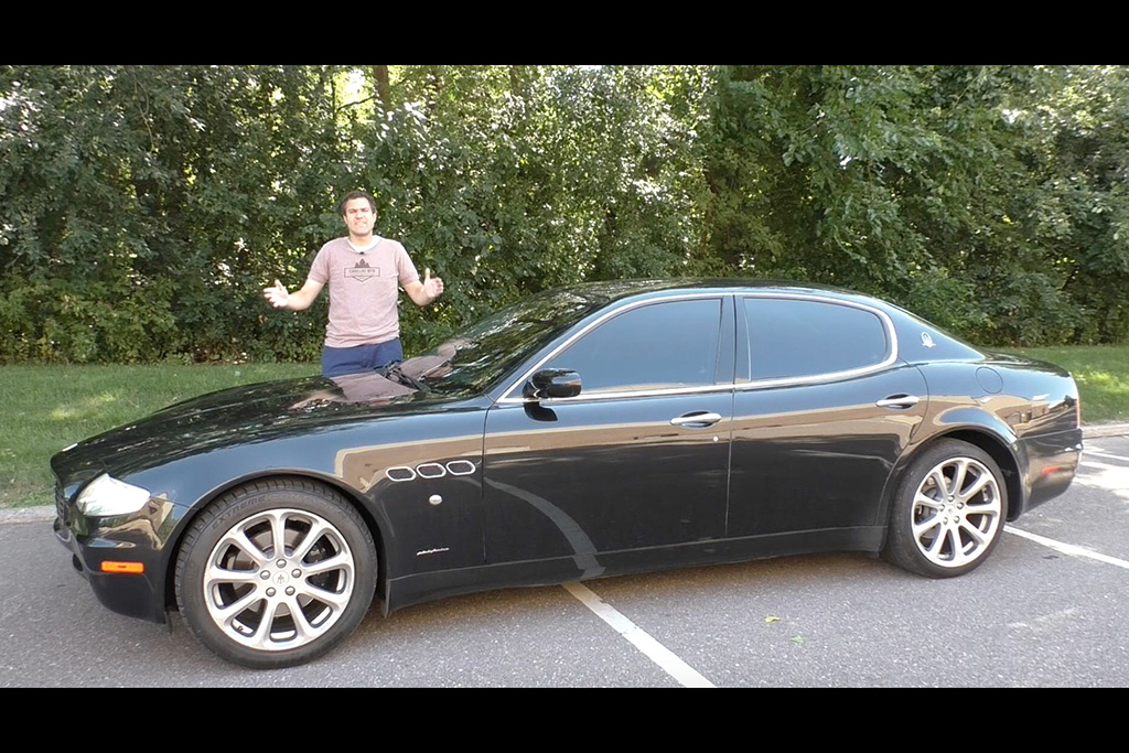The 2005 Maserati Quattroporte Is the Easiest Way to Look Rich for $20,000