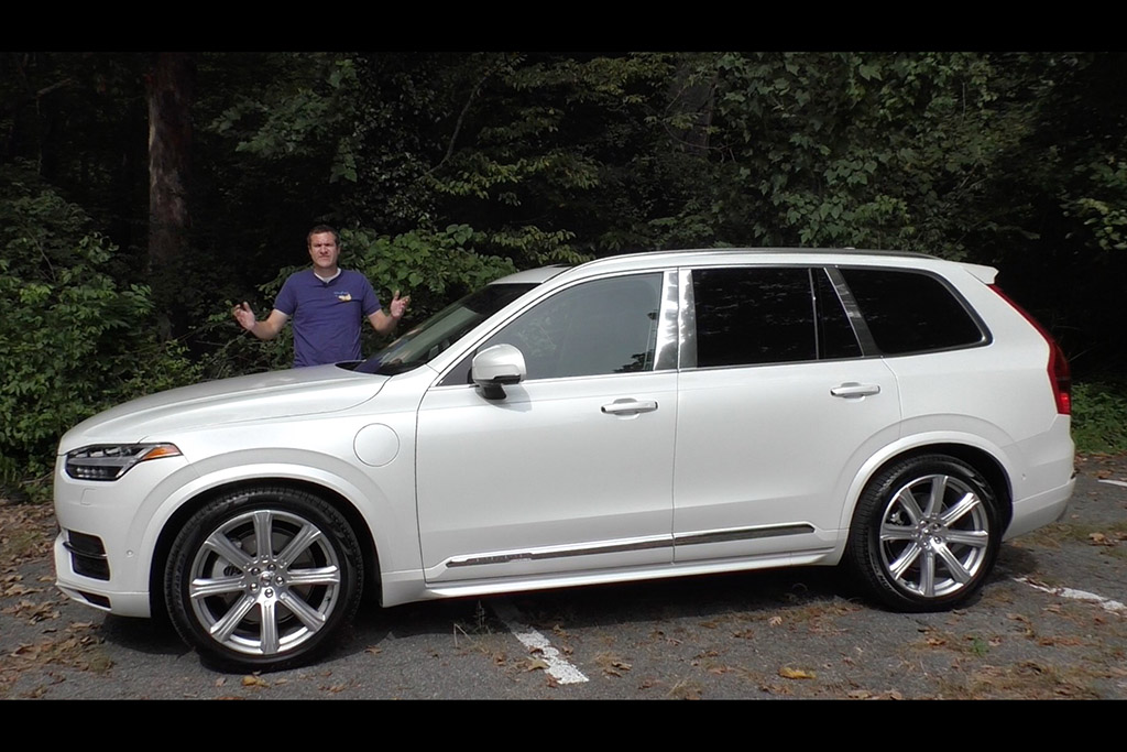 Here's a Tour of the $100,000 Volvo XC90 Excellence