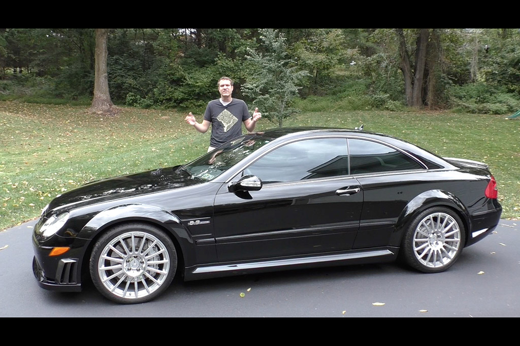 Here's Why the Mercedes-Benz CLK63 AMG Black Series Is the Best AMG Car