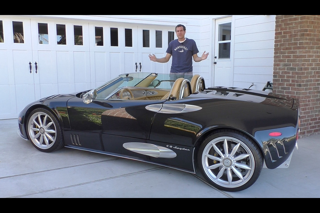 Video   The Spyker C8 Spyder Is the Quirkiest $250,000 Car in Existence