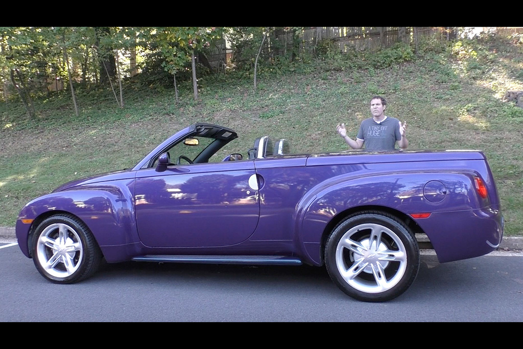 Video   The Chevy SSR Is One of the Weirdest Cars Chevy Ever Made