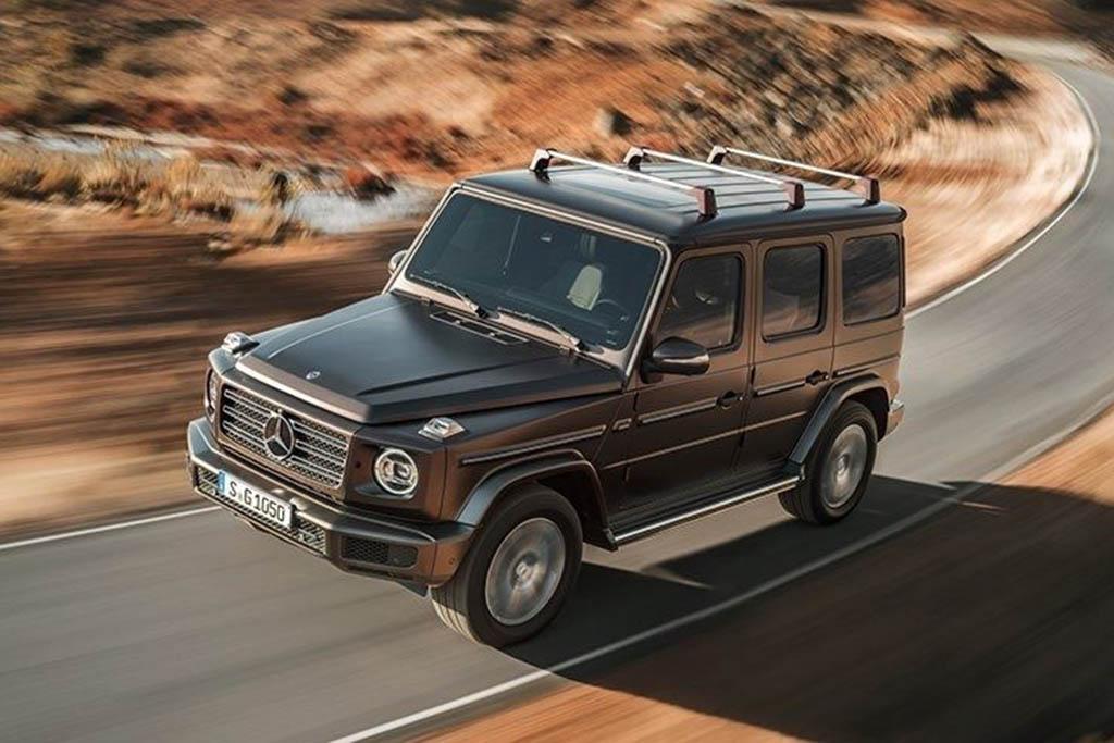 The New Mercedes-Benz G-Class Is a Huge Improvement