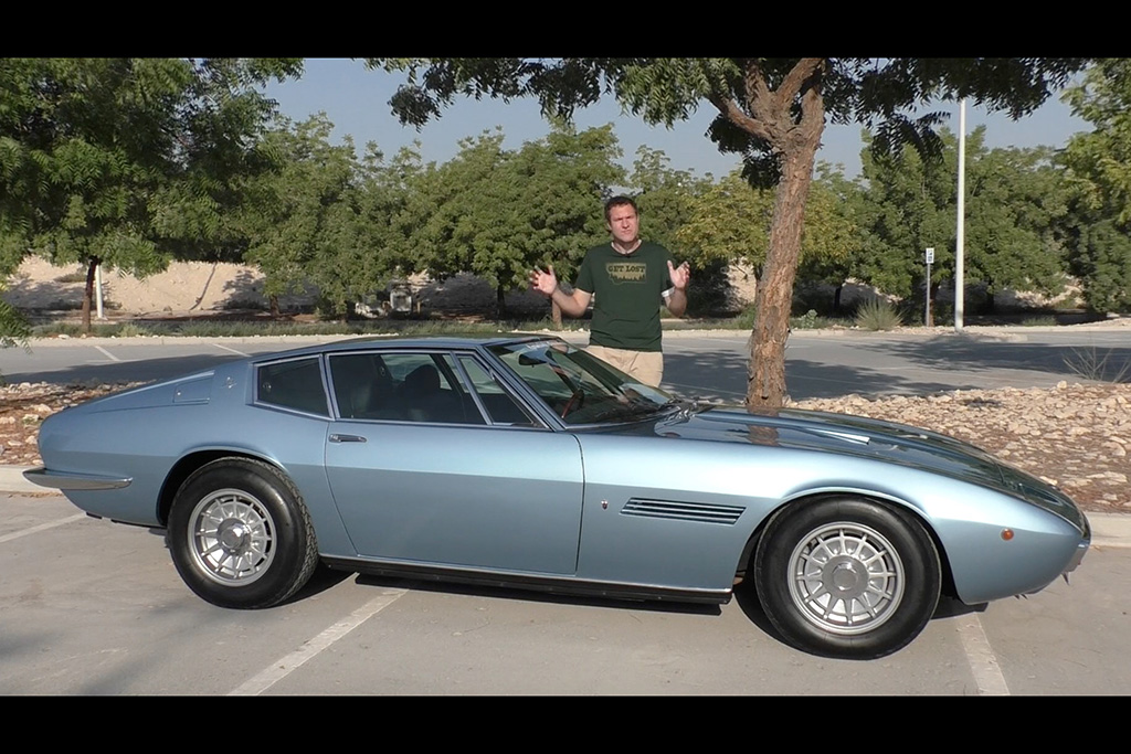 Video | The 1970s Maserati Ghibli Is Very Different From the Maserati of Today