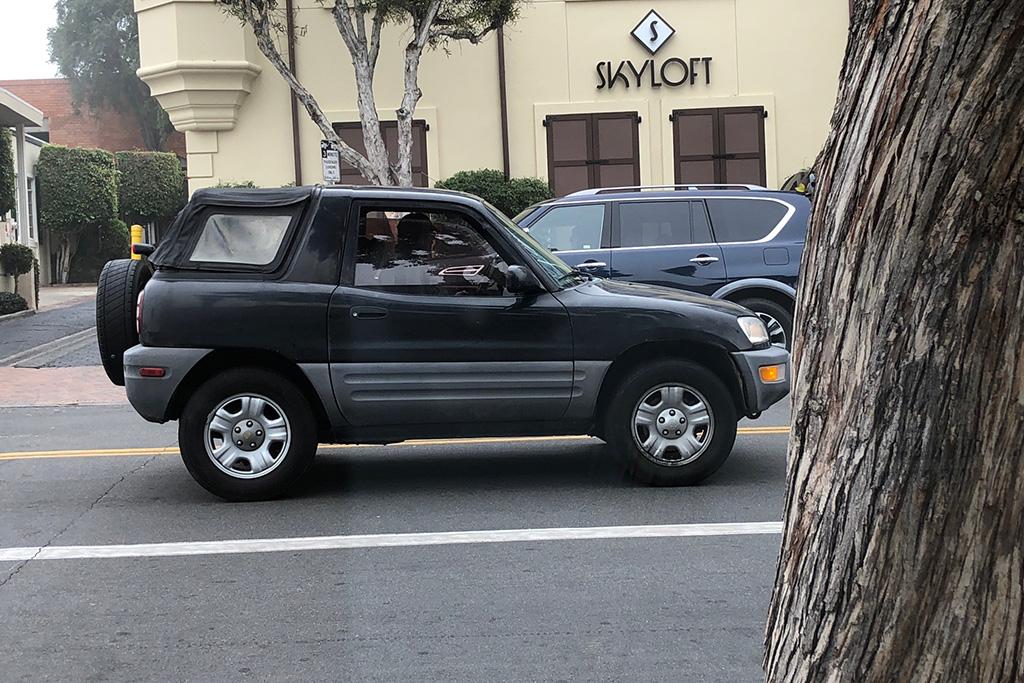 Remember When Toyota Made a RAV4 Convertible?