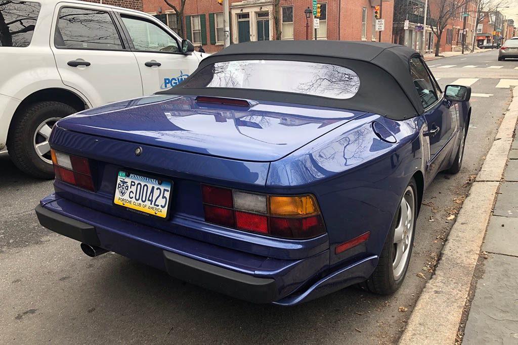 Pennsylvania Has a License Plate for the Porsche Club of America