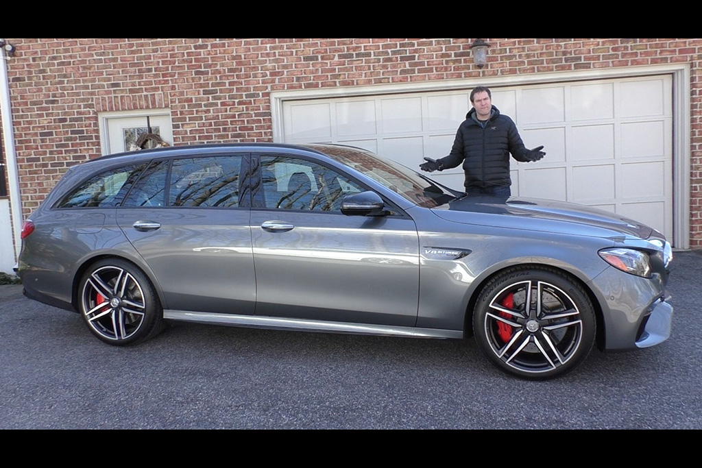 Video | The 2018 Mercedes-AMG E63 Wagon Is a $120,000 Family Wagon