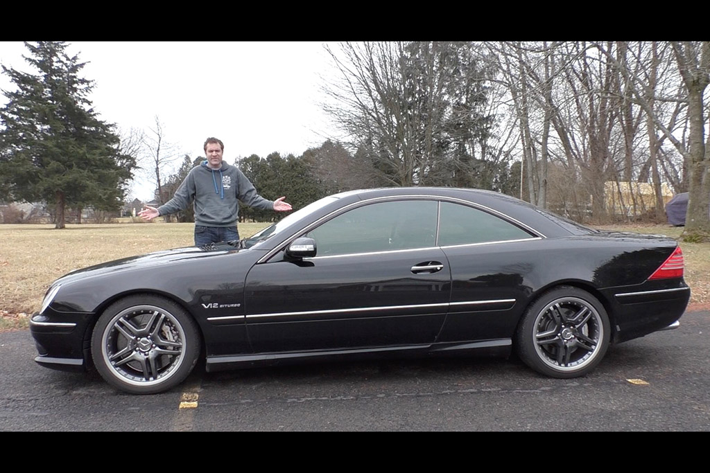 Video | This Mercedes-Benz CL 65 AMG Has Lost $200,000 in Value in 10 Years