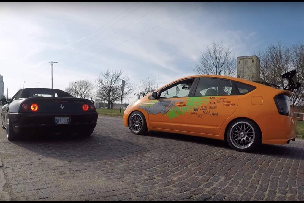 "Video | Can a Toyota Prius Be Cool? ""Fast and Furious"" Edition"