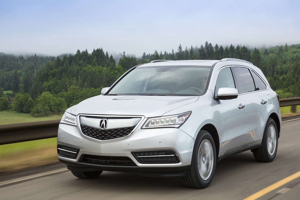 2014 Acura MDX Updated