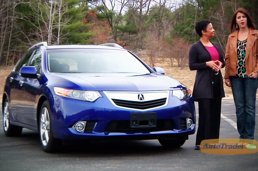 2011 Acura TSX Sport Wagon: New Car Review Video