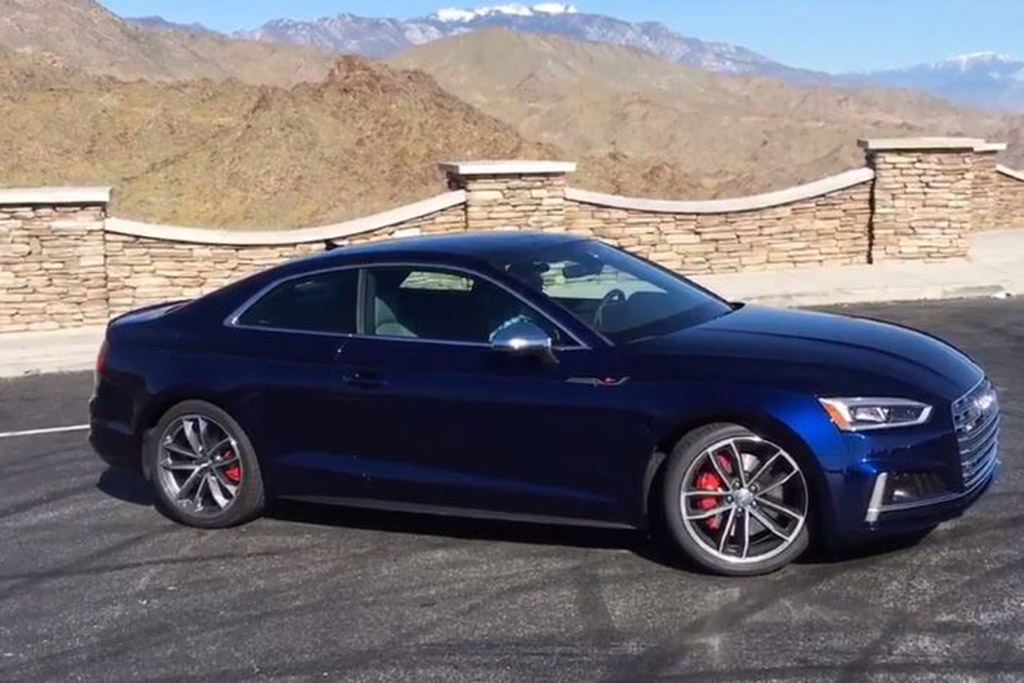2018 Audi S5: First Drive Review - Video