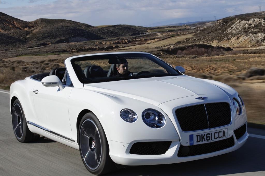 2013 Bentley Continental: Overview