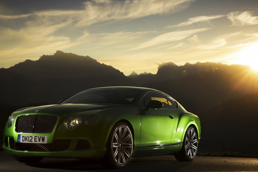 2014 Bentley Continental GT Speed: Overview
