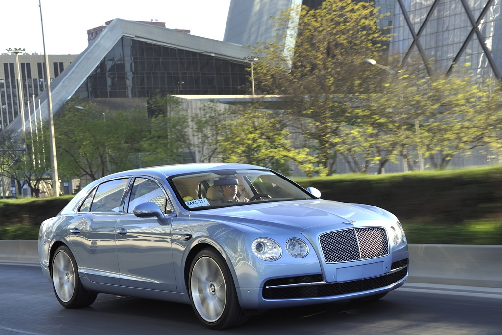 2014 Bentley Flying Spur: Overview