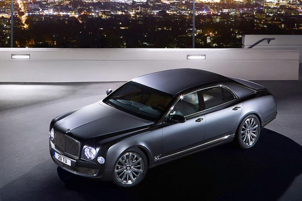 2014 Bentley Mulsanne: Overview