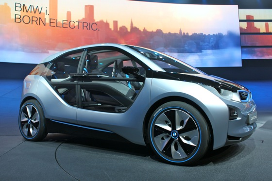 BMW i3 Electric Concept: First Look