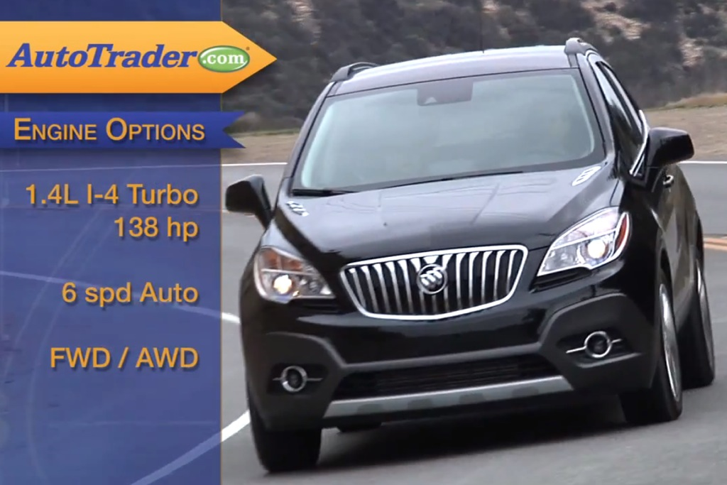 2013 Buick Encore: New Car Review Video