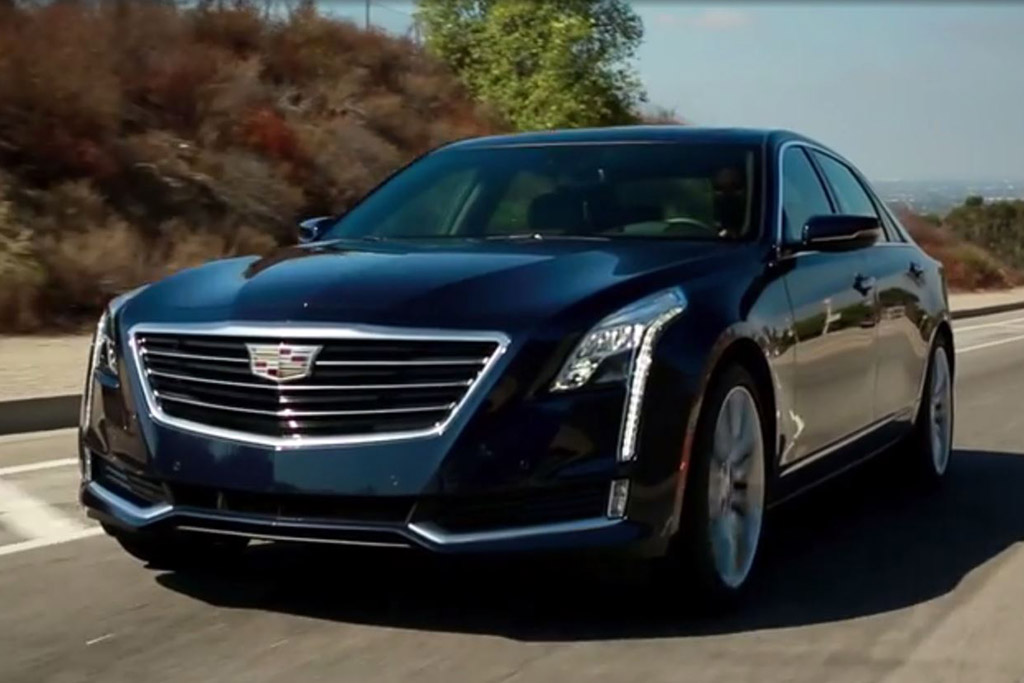 2016 Cadillac CT6: 5 Reasons to Buy - Video