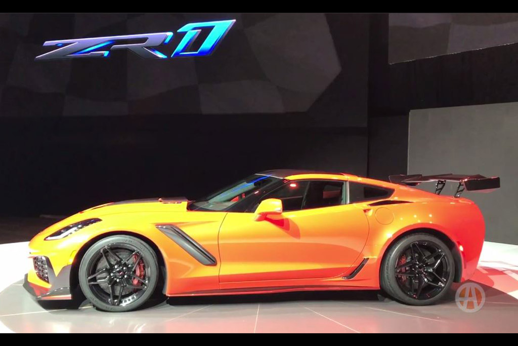 Here Are the 5 Coolest Things About the 2019 Chevy Corvette ZR1