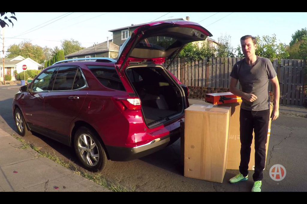 2018 Chevrolet Equinox: How Much Can You Fit in the Back? - Video
