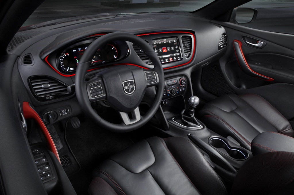 2013 Dodge Dart Rallye: Interior Enjoyment