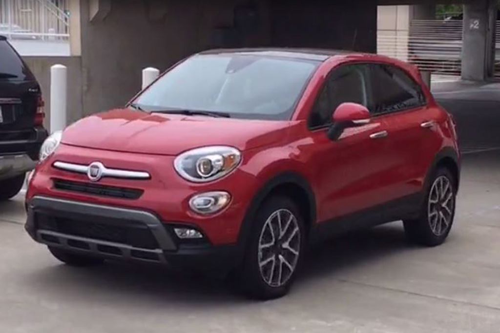 2016 FIAT 500X: Plenty of Space