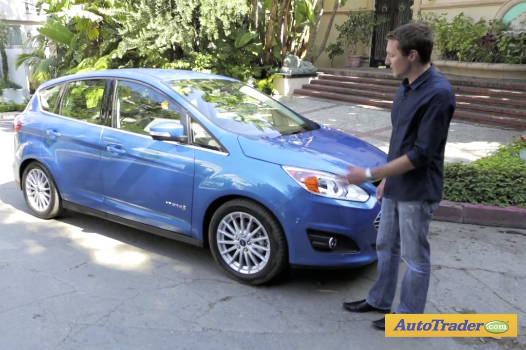 2013 Ford C-Max Hybrid: First Drive Video