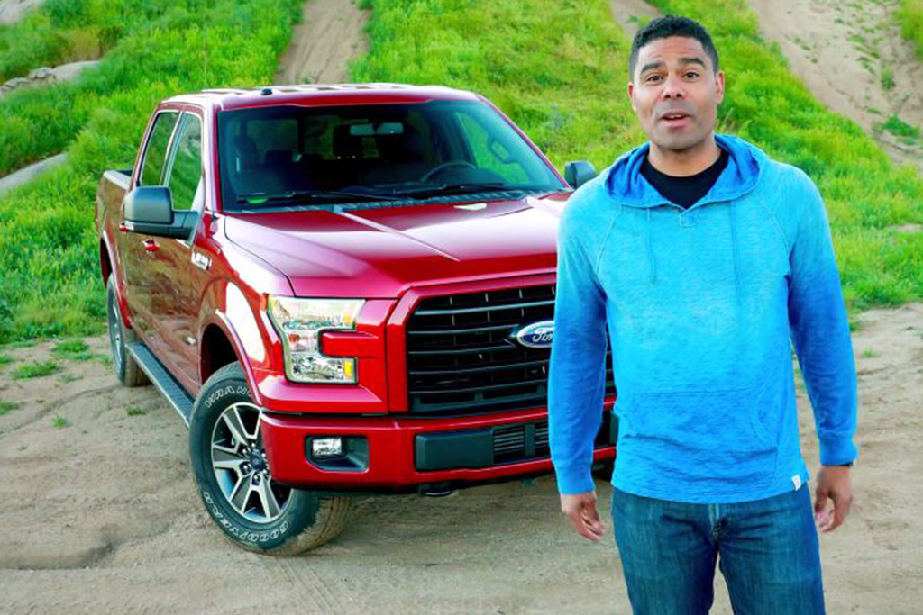 1995 vs. 2017 Ford F-150 - Video