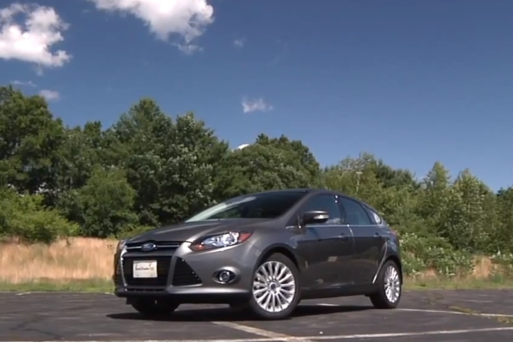 2012 Ford Focus: New Car Review Video
