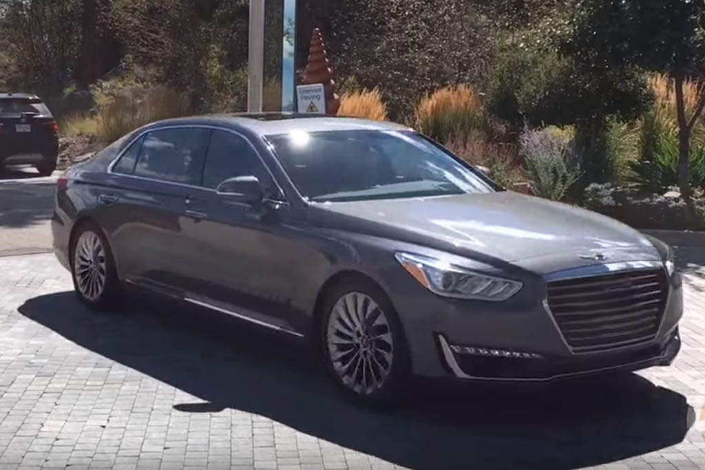 2017 Genesis G90: First Drive Review - Video