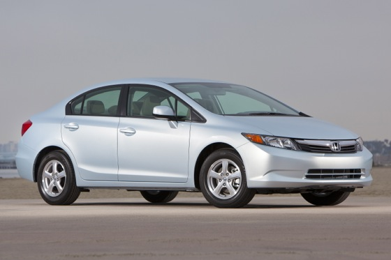 2012 Honda Civic Natural Gas: New Car Review