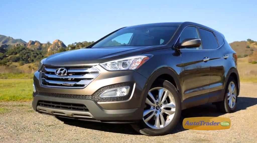 2013 Hyundai Santa Fe: New Car Review Video