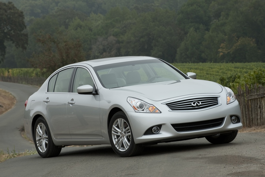 2012 Infiniti G Sedan: New Car Review