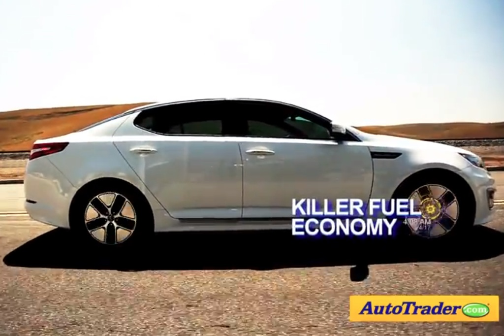 2012 Kia Optima Hybrid: 5 Reasons to Buy - Video