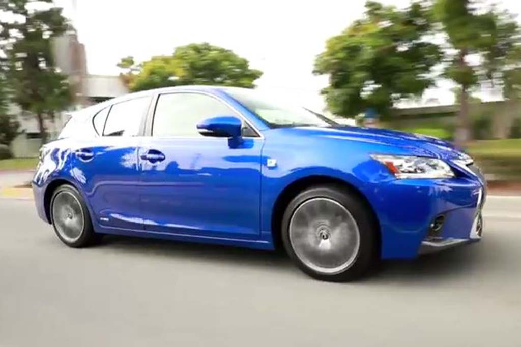 2016 Lexus CT200h: 5 Reasons to Buy - Video