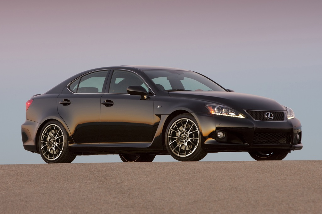 2012 Lexus IS F: New Car Review