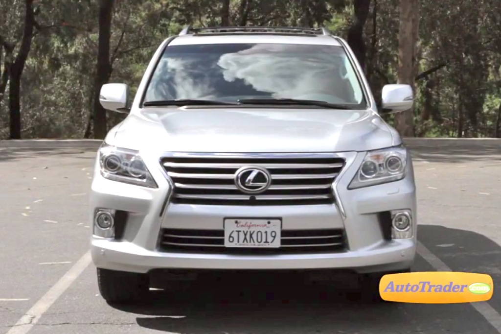 2013 Lexus LX570: New Car Review - Video