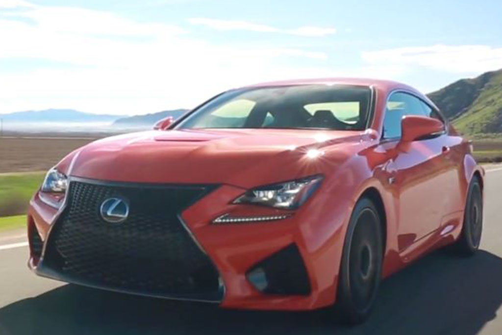 2016 Lexus RC F: 5 Reasons to Buy - Video
