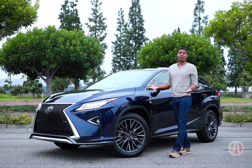 2016 Lexus RX 350: 5 Reasons to Buy - Video