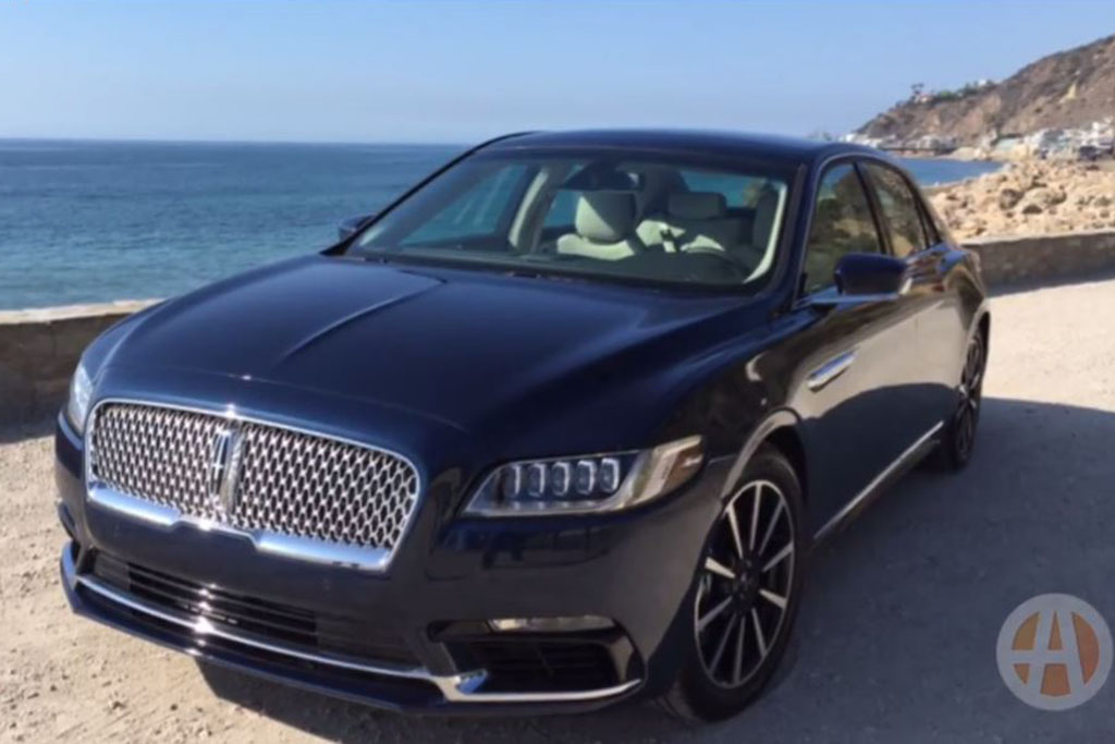 2017 Lincoln Continental: First Drive Review - Video