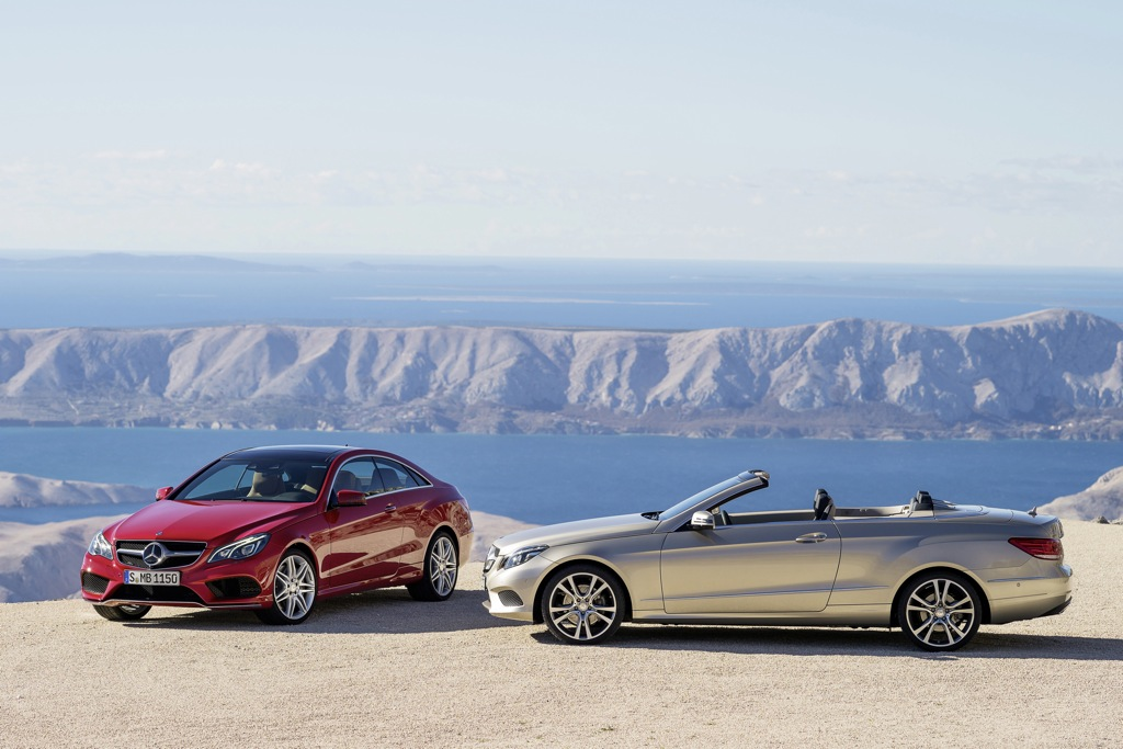 2014 Mercedes-Benz E-Class Cabriolet and Coupe: First Drive