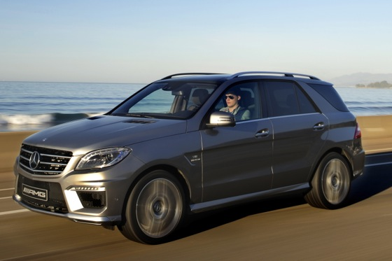 2012 Mercedes-Benz ML63 AMG: First Drive featured image large thumb0